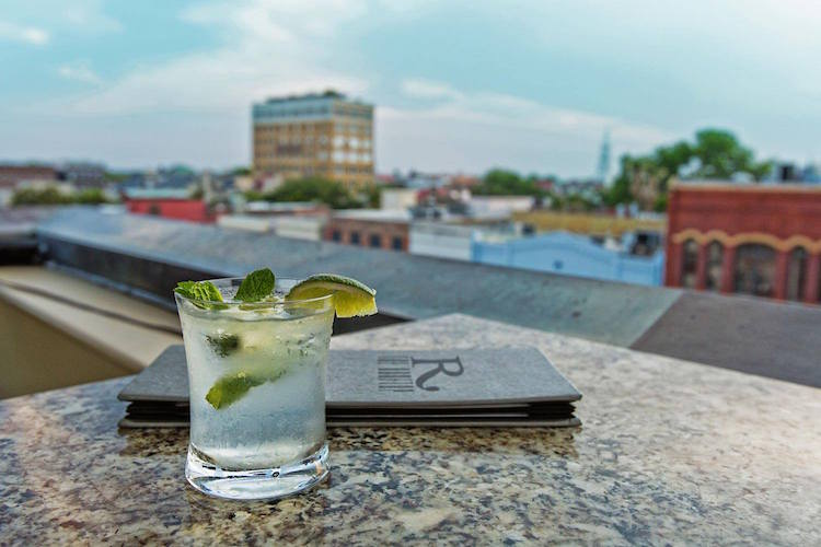The Rooftop at the Vendue, Charleston, SC