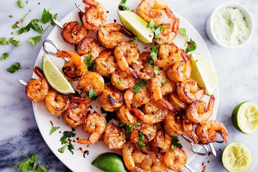 Recipe: Cumin-Marinated Shrimp